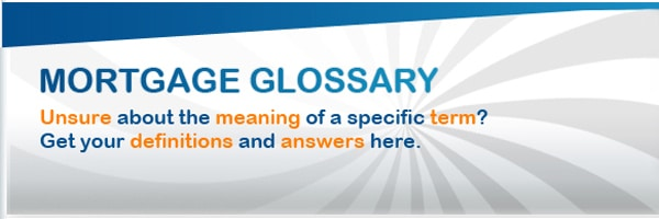 Mortgage Glossary – R